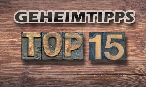 Top 15 | Geheimtipps für den Herbst 2021