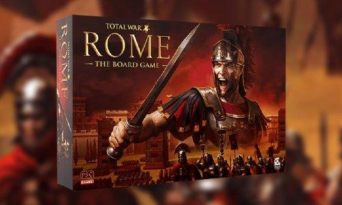 TOTAL WAR: ROME – THE BOARD GAME // für 2022 angekündigt