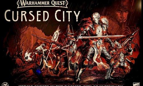 WARHAMMER QUEST: CURSED CITY // ist bereits erschienen