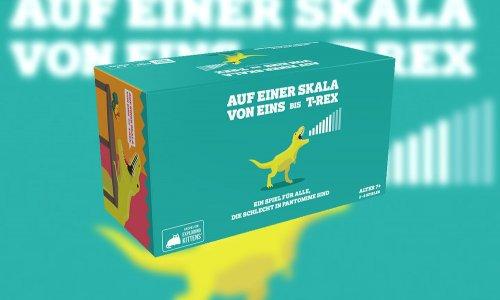 AUF EINER SKALA VON EINS BIS T-REX // auf Deutsch bei ASMODEE