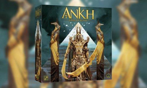 ANKH: GODS OF EGYPT // auf Deutsch bei ASMODEE