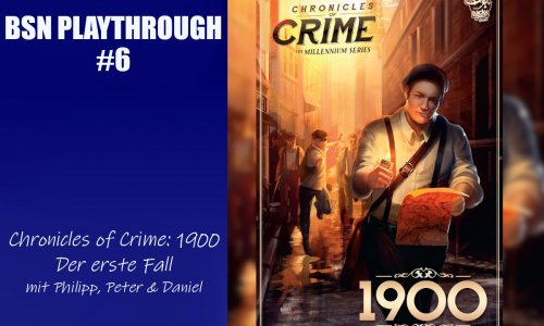 BSN PLAYTHROUGH #6 // Chronicles of Crime: 1900 - der erste Fall