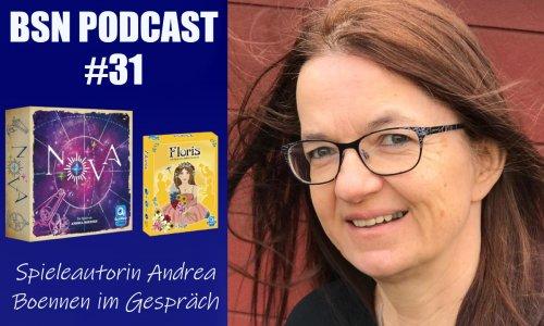 BSN PODCAST #31 // im Gespräch mit Spieleautorin Andrea Boennen