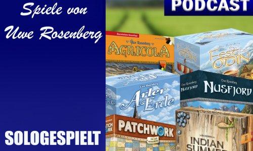 PODCAST // BSN SOLOGESPIELT #2 - Spiele von Uwe Rosenberg
