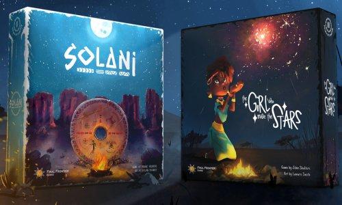 SOLANI & THE GIRL WHO MADE THE STARS // auf Kickstarter