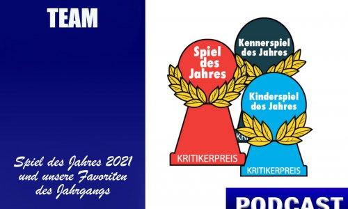 BSN PODCAST # 24 // Team - Spiel des Jahres & Kennerspiel des Jahres
