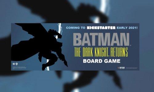 BATMAN THE DARK KNIGHT RETURNS // bald auf Kickstarter