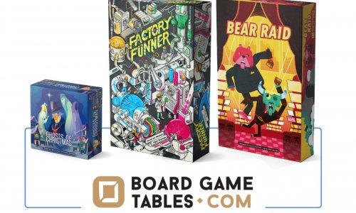 BOARDGAMETABLES // drei Spiele auf Kickstarter