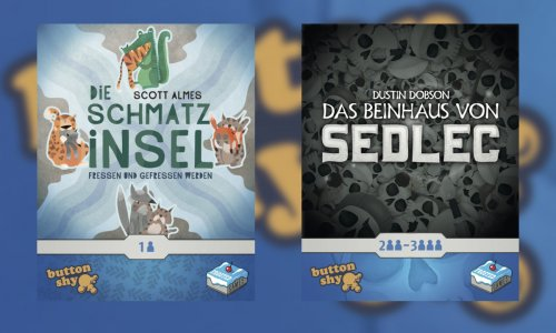 BUTTON SHY SPIELE // bei FROSTED GAMES im September