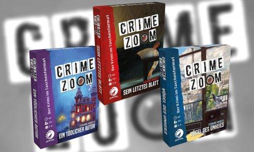 CRIMEZOOM // neue Krimispiele bei ASMODEE