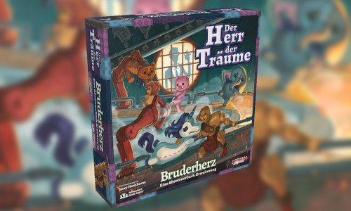 HERR DER TRÄUME // BRUDERHERZ Erweiterung erscheint im März