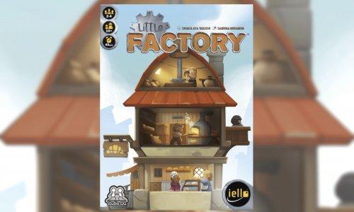 LITTLE FACTORY // Neuheit von IELLO