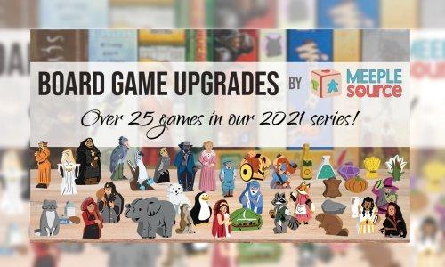 MEEPLESOURCE KICKSTARTER // mit Upgrades für über 25 Spiele