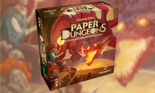 PAPER DUNGEONS // in der Spieleschmiede