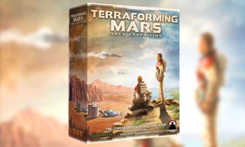 TERRAFORMING MARS: ARES EXPEDITION // Kartenspiel auf Kickstarter gestartet