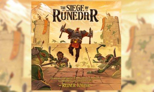 THE SIEGE OF RUNEDAR // neues Spiel von Reiner Knizia