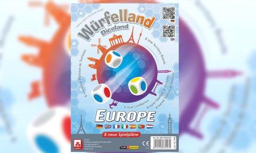 WÜRFELLAND: EUROPA // Erweiterung mit acht Spielplänen
