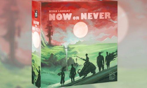 NOW OR NEVER // Neuheit von Red Raven Games erscheint noch dieses Jahr