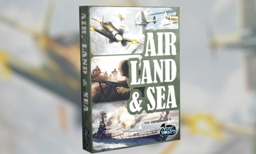 AIR, LAND & SEA // kommt wohl im September in die Spieleschmiede