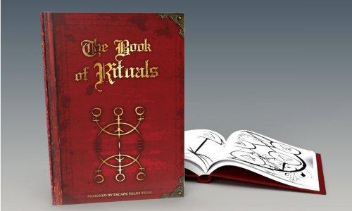 BOOK OF RITUALS // Rätsel-Buch von Escape Tales-Machern erscheint dieses Jahr
