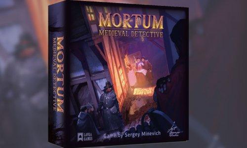 MORTUM – AGENTEN DES DUNKLEN ZEITALTERS // kommt im Herbst in die Spieleschmiede
