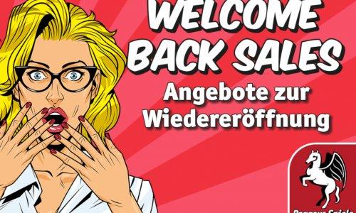 ANGEBOT // Welcome Back Sales von Pegasus Spiele
