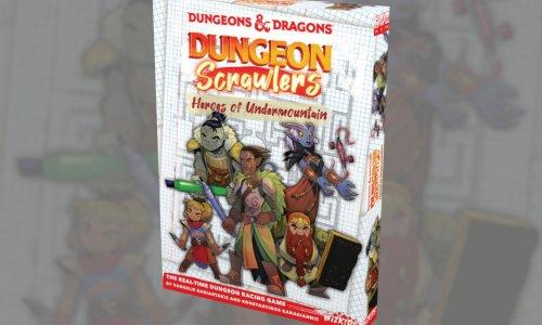 DUNGEONS & DRAGONS DUNGEON SCRAWLERS // Neuheit von WizKids vorbestellbar