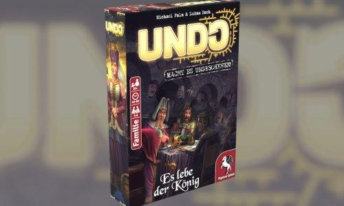 UNDO – ES LEBE DER KÖNIG // Neuer Teil der UNDO-Reihe 2021 bei PEGASUS