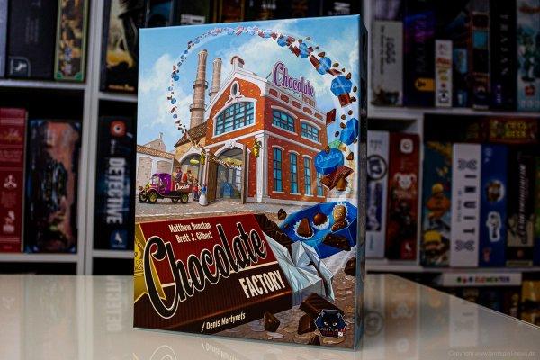 CHOCOLATE FACTORY // Bilder der Neuheit