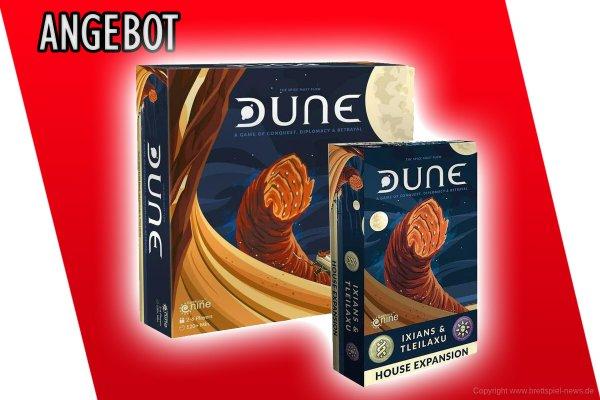 ANGEBOT // DUNE + Erweiterung für 54,99 €